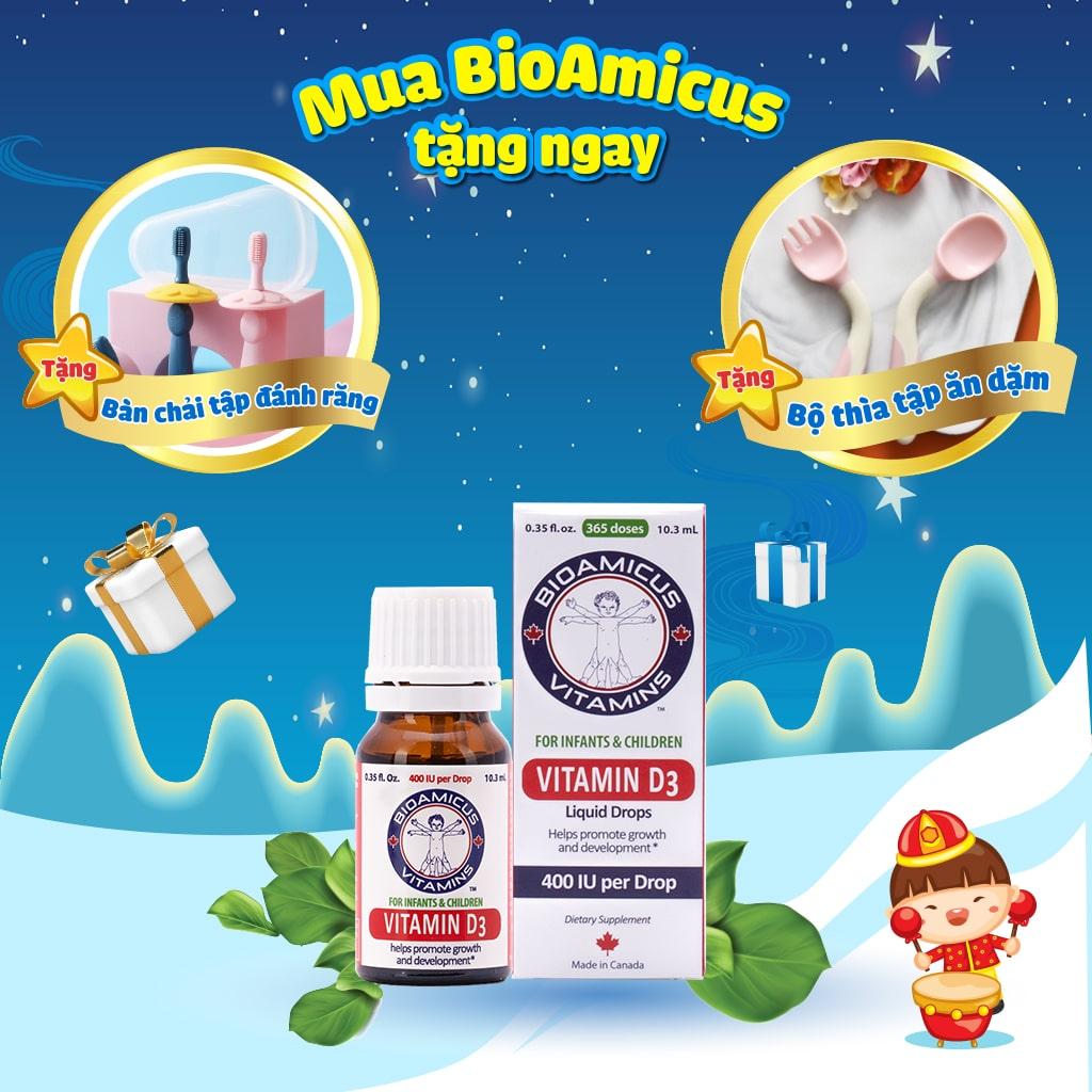 Quà tặng Bioamicus Vitamin D3