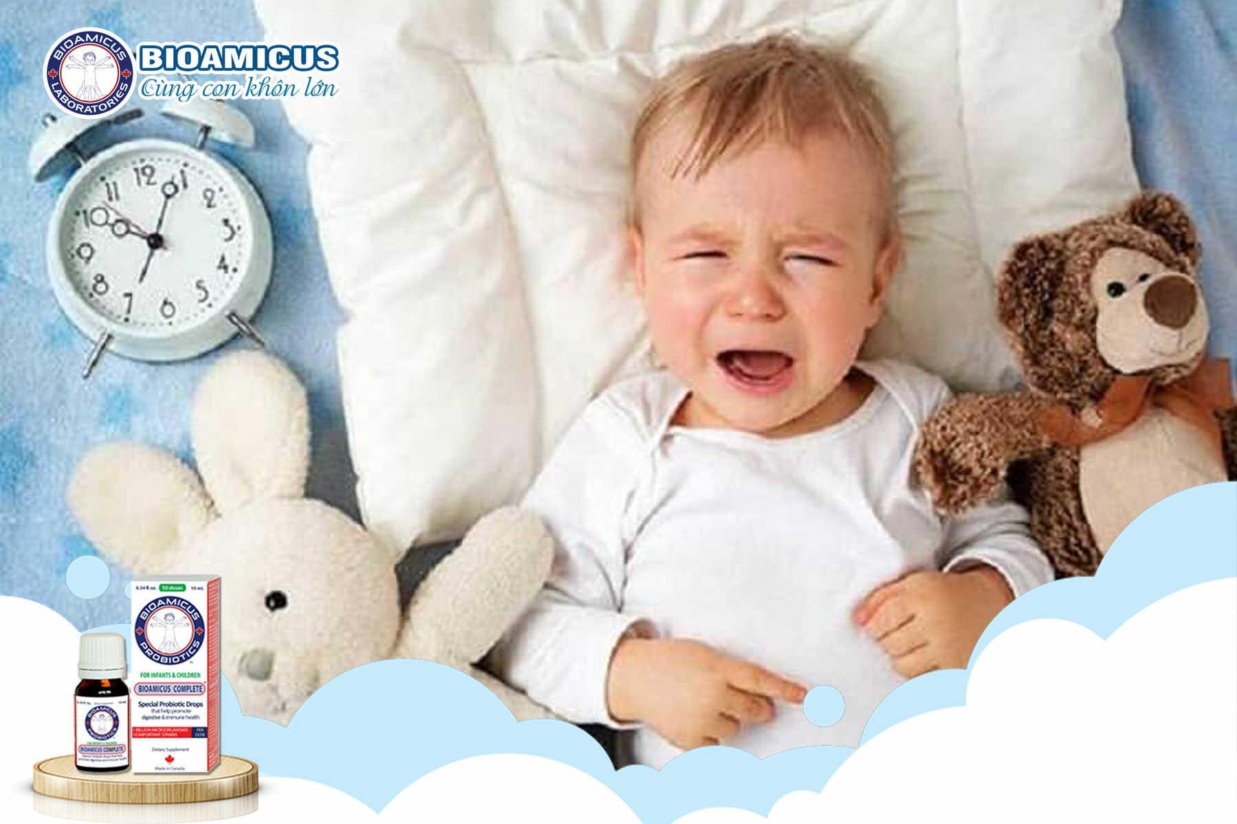 Quấy khóc đêm ở trẻ