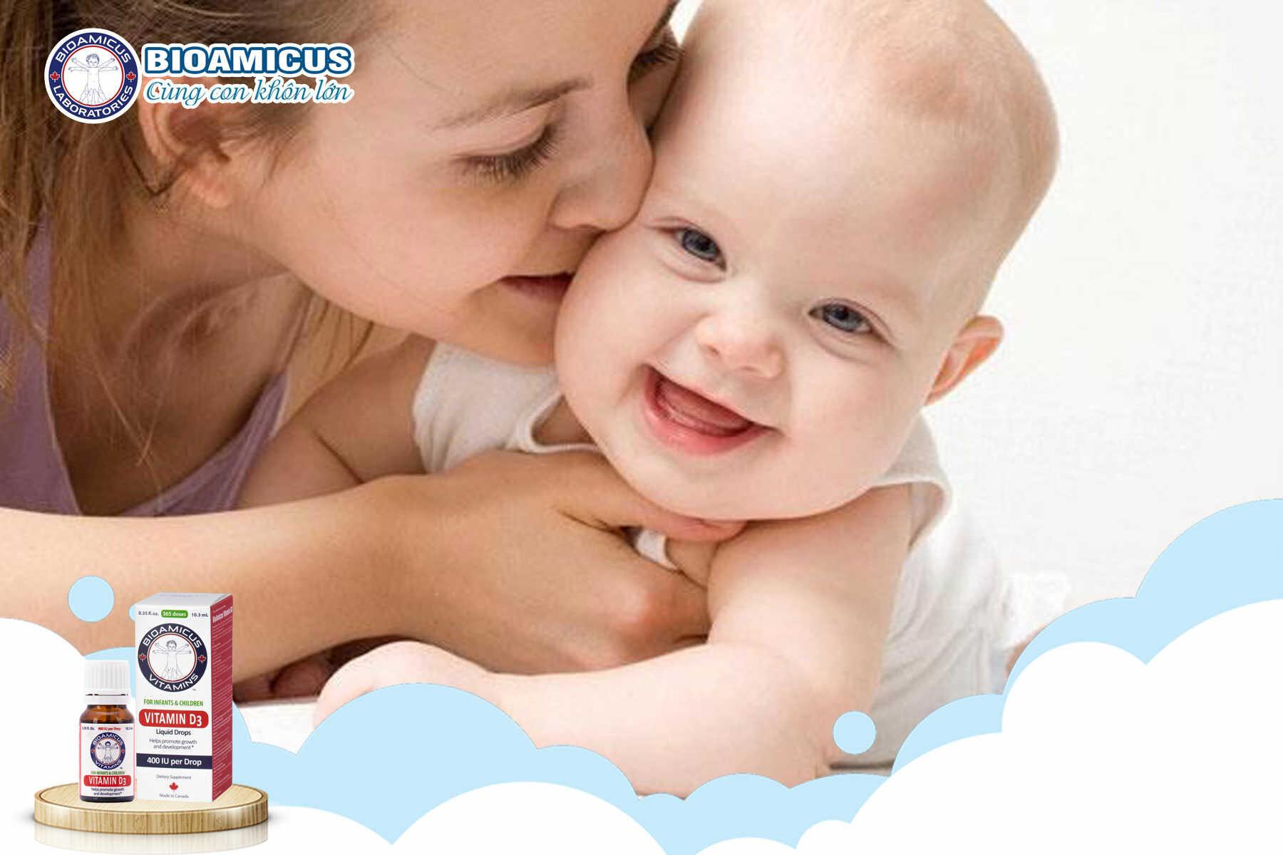 Có nên cho trẻ sơ sinh uống Vitamin D3