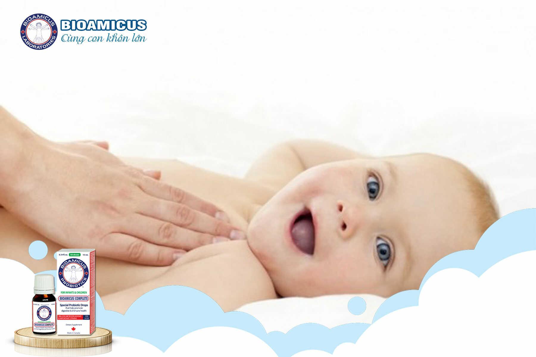 Khóc quấy đên ở trẻ sơ sinh