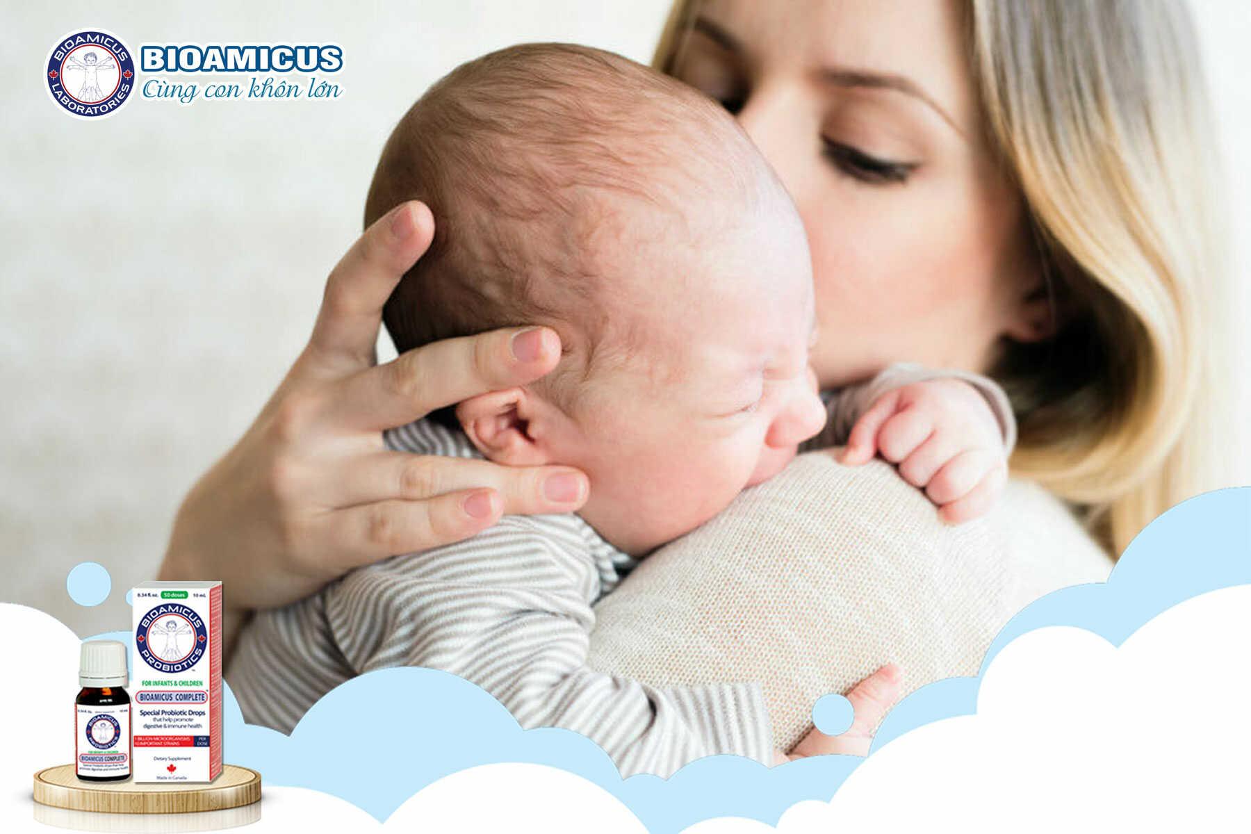 5 cách chữa khóc dạ đề ở trẻ