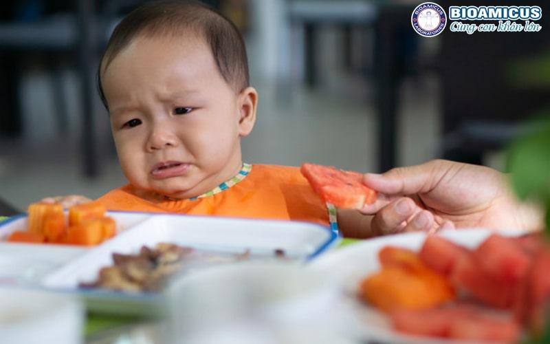 Nguyên nhân gây biếng ăn ở trẻ
