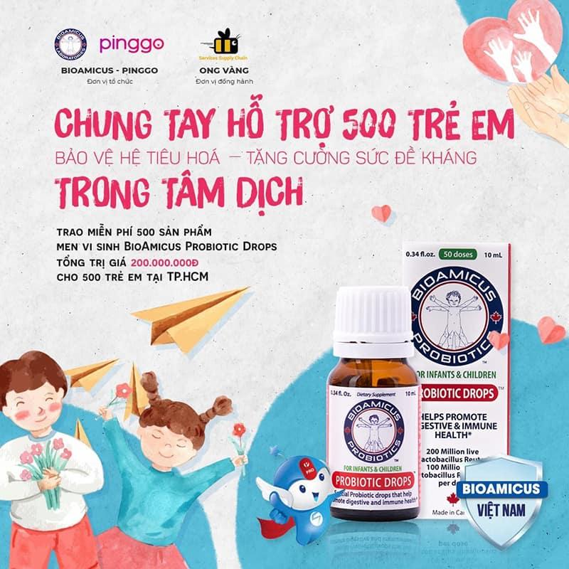 Lan tỏa yêu thương đến trẻ em HCM