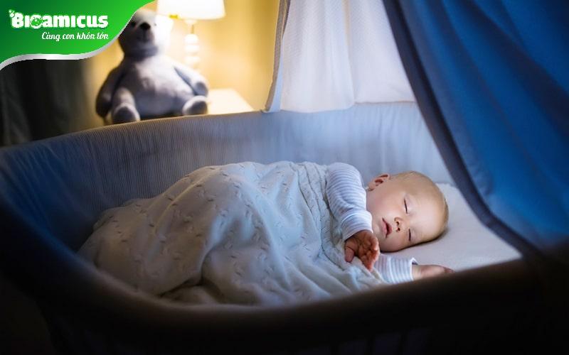 Tạo không gian ngủ cho bé